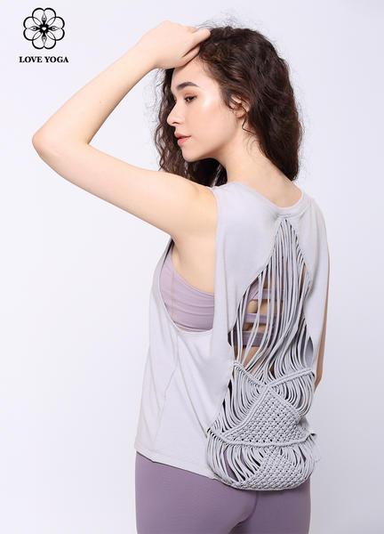 【Y850】夏季新品编织系列罩衫上衣