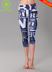 H5203瑜伽花裤    S码现货