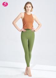【J1250】夏日休閑活力背心套裝 柿橙+草綠