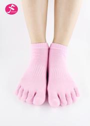 一梵新品秋冬保暖瑜伽袜 粉色