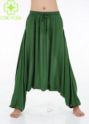 LOVE-YOGA高端禅修瑜 C501绿色裤子
