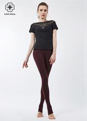 【Y765】新款V形鏤空蕾絲性感設計 黑色