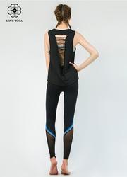 特價罩衫【Y781】罩衫時尚裁剪漏背設計 黑色