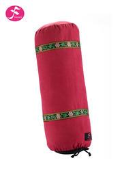 圆形瑜伽棉花抱枕 内充棉    辅助工具  60*20CM