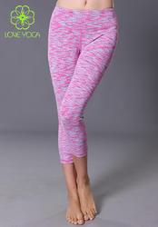 七分裤 紫红色织K757S/M/L现货