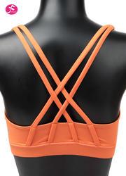 【促销款】Y1052 橘色 BRA双肩带经典款