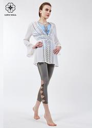 特價外套  【W445】時尚鏤空雕花設計 輕盈透氣  白色