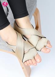 一梵硅膠防滑瑜伽鞋 米黃色