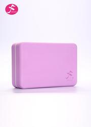 一梵高密度瑜伽砖(粉紫色)23*15*7.5CM