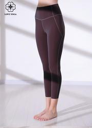 【K1036】一梵秋冬新款高彈裸感瑜伽運動褲