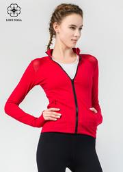 【W449】外套肩部网纱拼接散热、透气拉链冒保护颈部拇指洞固定袖袢