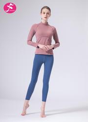 【J1154】秋冬新款初學者修身棉感瑜伽運動套裝