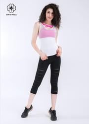 性感满分的胸前交叉Bra,聚拢收副乳—透气玫红款(Y559)