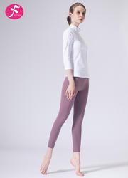【J1157】一梵秋冬新款輕奢七分袖顯高顯瘦瑜伽運動套裝