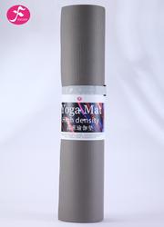 PVC高密度防滑瑜伽墊 灰色 183*61*0.6CM