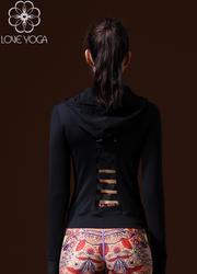 LOVE-YOGA瑜伽长袖 W434 瑜伽外套