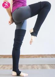 新品秋冬保暖瑜伽长袜 黑色