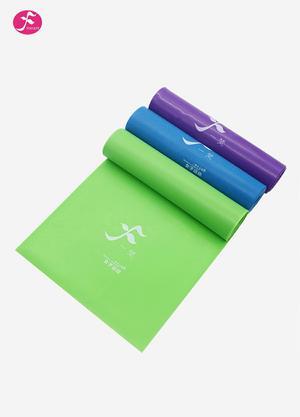 一梵 瑜伽拉力帶 健身帶瘦身帶 瑜珈帶卷卷就能瘦彈力帶