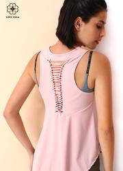 【Y938】S/M/L現貨  后背編織A擺罩衫