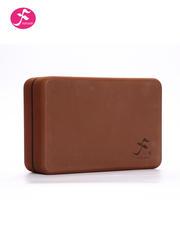 一梵高密度瑜伽砖(咖啡色)23*15*7.5CM