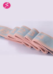 一梵新款數字拉力帶  治愈系顏色 加長款