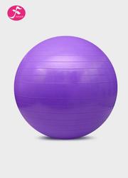 一梵瑜伽塑身球磨砂表皮 健身球 紫色