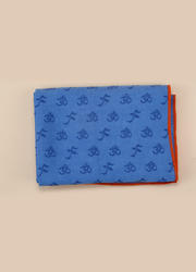 OM系列PVC防滑鋪巾 帶墊子套頭   深藍   183*63CM