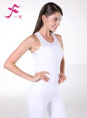 一梵瑜伽    清爽棉夏款套装       J691