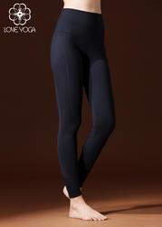 LOVE-YOGA瑜伽长裤 K820 瑜伽服修身束腿锦纶 黑色