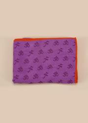 OM系列PVC防滑鋪巾 帶墊子套頭   紫紅色   183*63CM