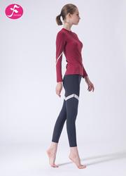 【J1146】秋冬新款修身显瘦跃动健身运动竞技宝测速网