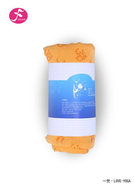 OM系列防滑铺巾 带垫子套头   黄色   183*63CM