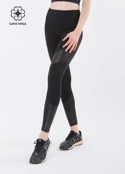(K848)S/L現貨     臀翹腿細的最終密碼-黑色拼皮款