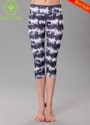 瑜伽花裤H5108  S现货