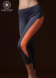 七分裤 灰色+橙色 K833 S/M/L现货