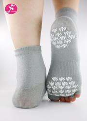 一梵新品秋冬保暖瑜伽袜 灰色