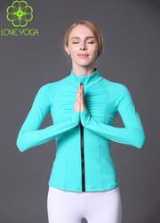 LOVE-YOGA瑜伽长袖上衣  W419 瑜伽服