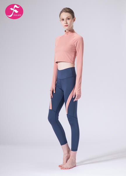 【J1155】一梵秋冬新款时尚中领小腰精拼接提臀显瘦套装