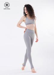 保護子宮必備長腿利器高腰褲—灰色款(K864)