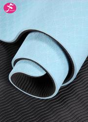 183*67*0.6CM(天蓝)防滑tpe加宽瑜伽垫