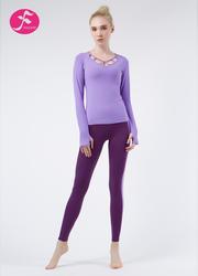 J1083 紫色 優雅蓮花套裝