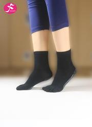 一梵新品秋冬保暖瑜伽袜 黑色