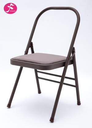 新品升級瑜伽椅暗藕色磨砂板