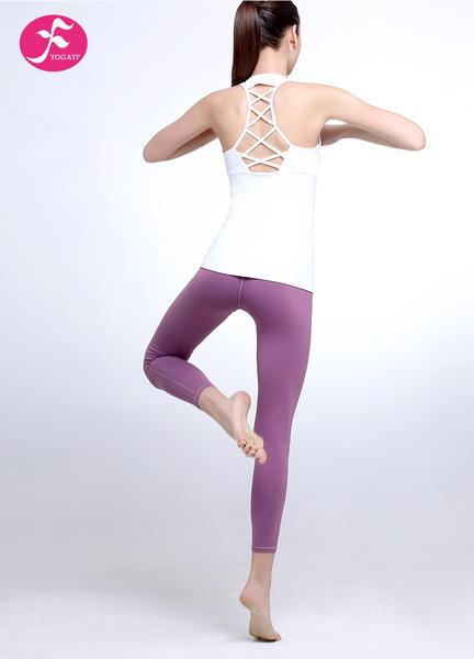 J1108套裝獨特編織背部設計褲子提臀裁剪