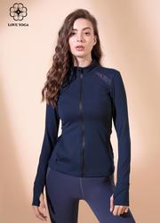 【W461】瑜伽服女秋冬新款經典瑜伽運動外套