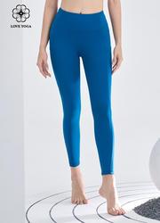 【K1099】专业剪裁经典瑜伽裤 科技蓝