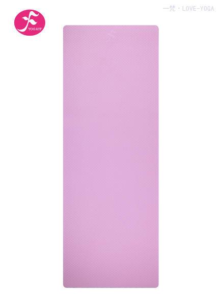 天然环保TPE瑜伽垫 183*61*0.6CM(粉色)