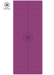 正位線天然橡膠PU墊 0.25cm    紫色