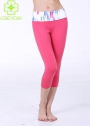 LOVE YOGA单裤 K722 中长裤