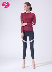 【J1146】秋冬新款修身显瘦跃动健身运动套装